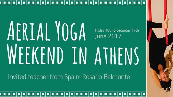 Aerial Yoga Weekend in Athens