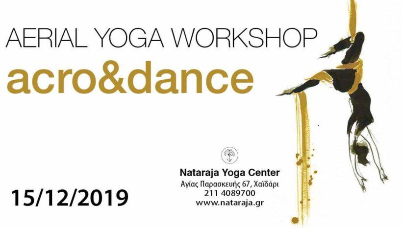 Aerial Yoga Workshop, Acro&Dance